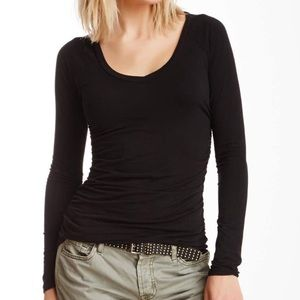 James Perse ruched tee